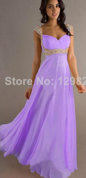 Plesové a společenské šaty Světle fialové