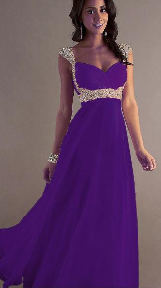 Plesové a společenské šaty Tmavě fialové