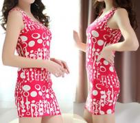 Letní šaty UNI velikost růžové