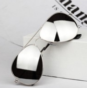 Sluneční brýle stříbrné MF Sunglasses 527