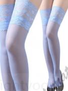 Barevné podvazky  modré SKLADEM