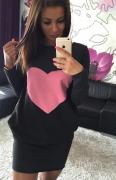 Dámské šaty se srdcem HEART