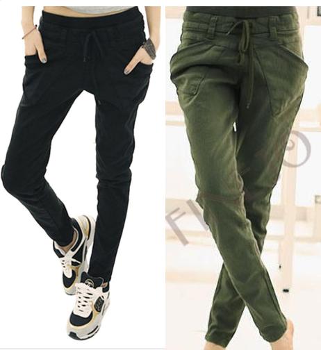 Harémové pohodlné kalhoty 2 BARVY SKLADEM