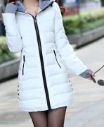 Dámská dlouhá bunda
