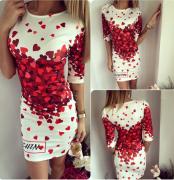 Dámské letní šaty s rukávem