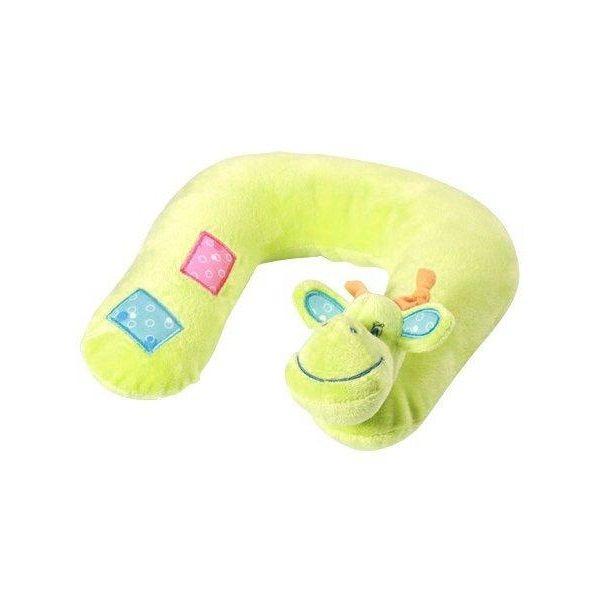 Cestovní polštářek Žirafka Baby Ono zelený