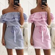 Dámské šaty ROMANTIC - Růžová