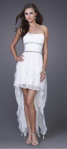 Třásňové společenské šaty