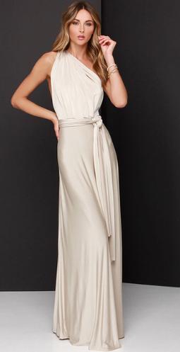 Dámské dlouhé letní MAXI šaty,multifunkční zavazování