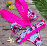 Dámské plavky s mašličkou na zádech