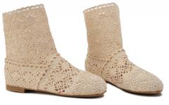 Letní boty béžové