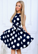 Letní šaty puntík