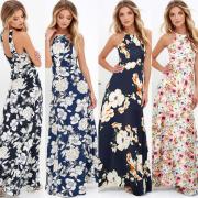 Letní šaty s rafinovanými zády