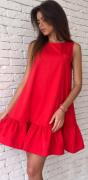 Letní šaty s volánem