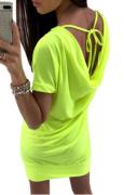 Pohodlné neonové šaty