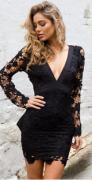 Romantické šaty holá záda, růžové nebo černé