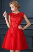 Romantické šaty krátké