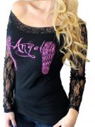 Tričko ANGEL dlouhý rukáv