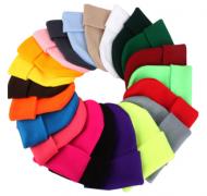 Čepice - mnoho barev