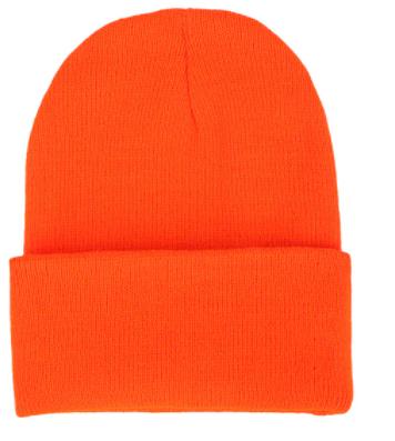 Čepice - mnoho barev - Oranžová