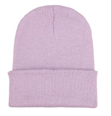Čepice - mnoho barev - Světle fialová