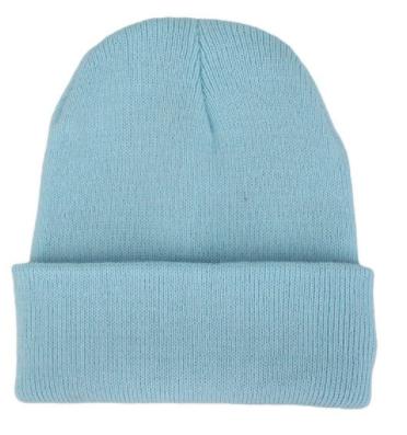 Čepice - mnoho barev - Světle modrá