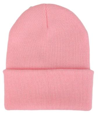 Čepice - mnoho barev - Světle růžová