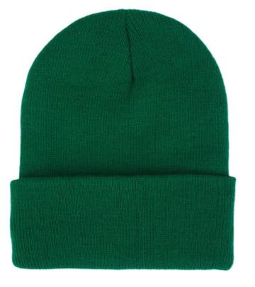 Čepice - mnoho barev - Tmavě zelená