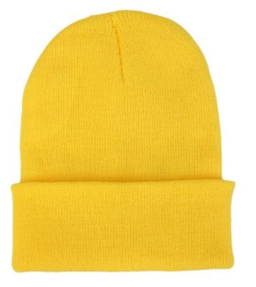 Čepice - mnoho barev - Žlutá