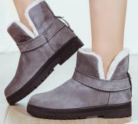 Dámské kotníkové boty s kožešinou 4 BARVY