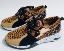 Dámské sportovní botasky Leopard
