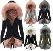 Kabátek s kožešinou a kapucí