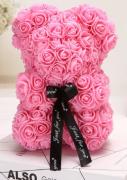 Medvídek z růžiček