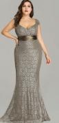 Společenské šaty s motivem kytek