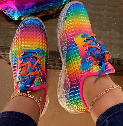 Sportovní botasky DUHA