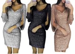 Třpytivé šaty na silvestrovskou noc