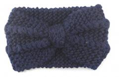 Zimní pletené čelenky
