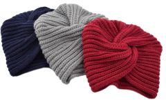 Pletený turban