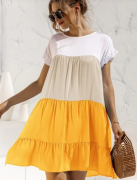 Barevné letní šaty  | Červené, Modré, Růžové, Žluté
