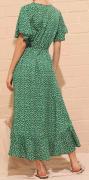 Dlouhé šaty zelené