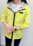 Jarní bunda s kapucí OBOUSTRANNÁ