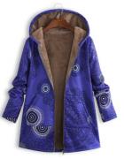 Ležérní kabát s kožešinou