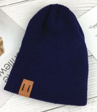 Moderní čepice - Modrá