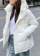 Prošívané bundy s kapucí