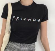 Tričko s nápisem 2 barvy