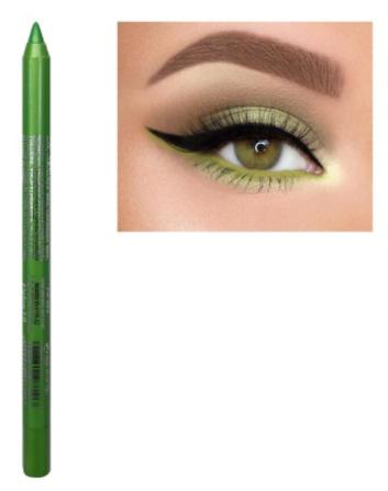 Tužka na oči tmavě světle zelená